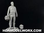 Colonial Pilot Resin Figure in 1/32 Scale by GREEN STRAWBERRY    COMING SOON!
